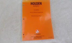 Holden-V2-series-Monaro-Service-Manual-Supplement-Body-Structure-Repair-RARE