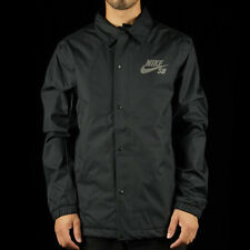 Nike SB Assistant Coaches Snowboarding Jacket - LARGE - 807941-010 Black Grey
