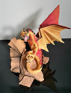 Tudor Mint Land of the Dragons Large Desert Dragon K019 Retired