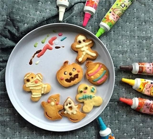 4Pcs Halloween Pumpkin Plunger Chocolate Cake Cookie Fondant Mold Mould Cutters.