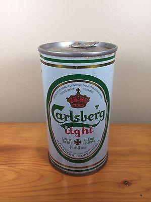 Vintage Beer Can Carlsberg Light Canada Copenhagen Carling ...