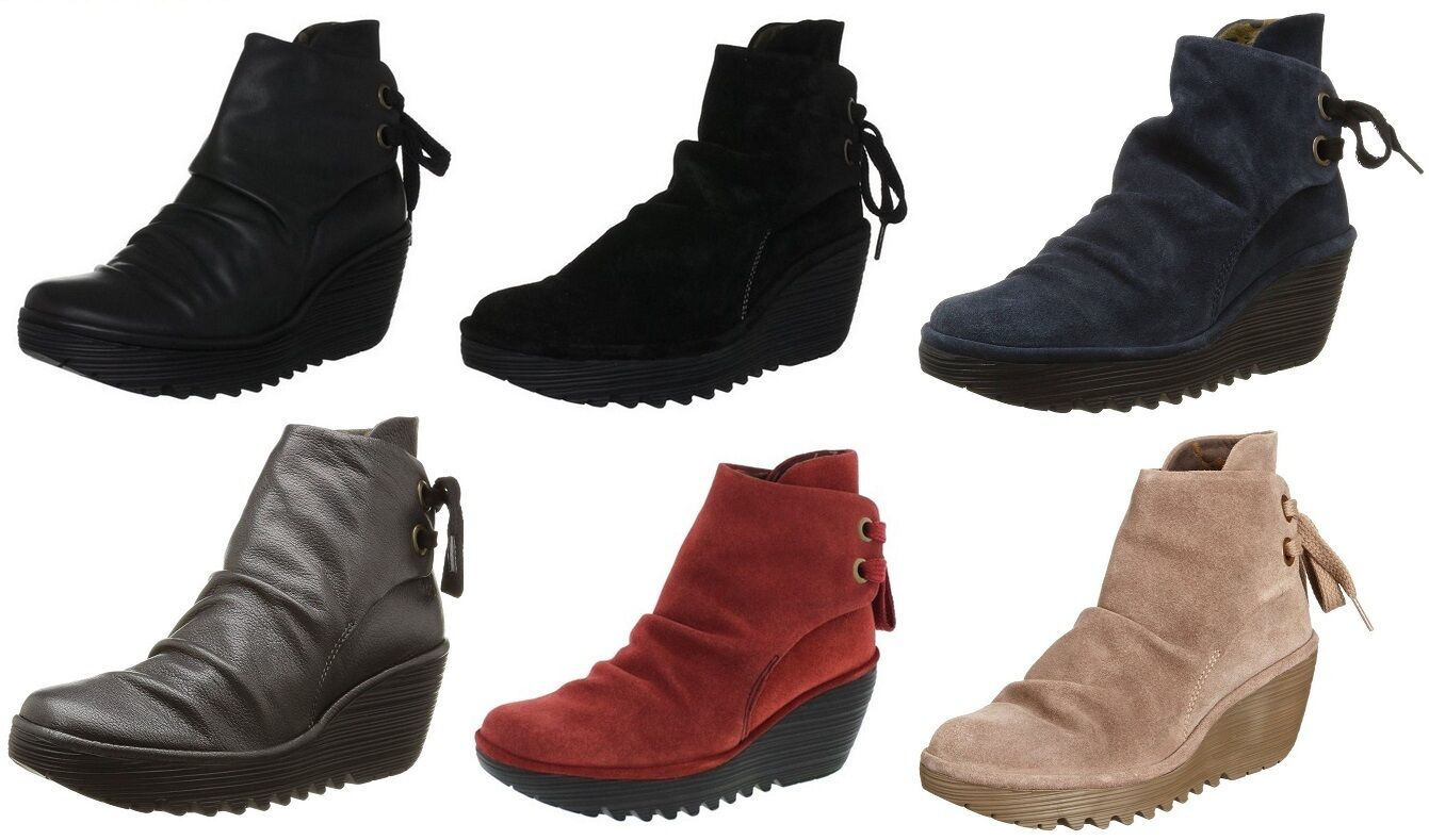Fly Wedge london Yama Damenschuhe Wedge Fly Ankle Stiefel 45b188