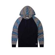 Men's Casual Pullover Roomy Hoodies Hooded Sweatshirt Front Pocket M 6116018C