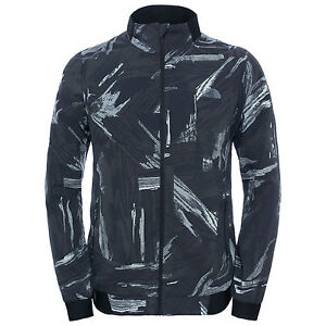 9710a7b1f Details about The North Face Mens RAPIDO MODA REFLECTIVE Running Cycling  Safety Jacket Black M
