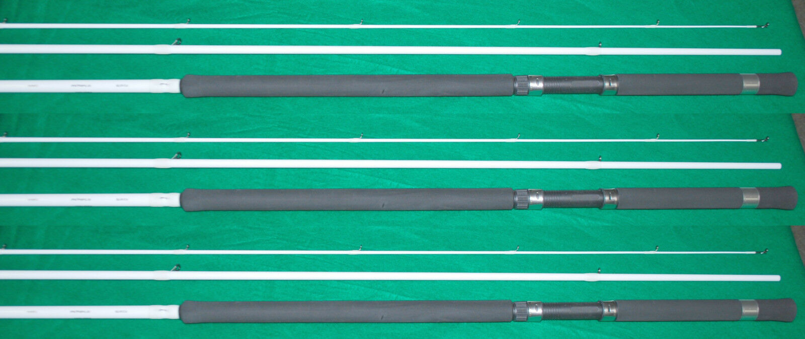 3EA DENALI NEW 18' TROLLING RODS NEW PRYME SERIES P2161TR (CRAPPIE POLE)