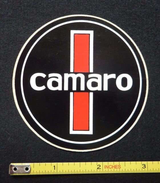 Chevy Camaro Decal Sticker~Original 60's 70's Vintage~Chevrolet Racing Hot Rod