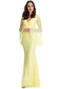 GODDIVA-FLORAL-LACE-LONG-MAXI-WEDDING-EVE-PARTY-DRESS-8-14-RRP-59-99