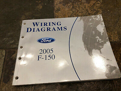 2005 Ford F 150 Wiring Diagrams Electrical Service Manual Ebay