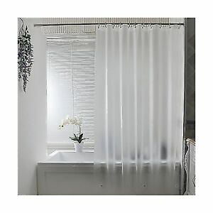 Aoohome Frosted Shower Curtain Liner Eva Extra Long 72x78 Inch