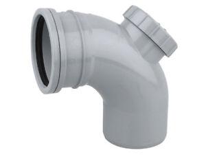 Osma-PVC-U-Access-Bend-90-GREY-BLACK-WHITE-110mm-S-S-4S169G-4S169-Soil