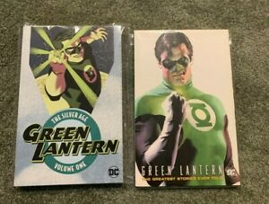 THE SILVER AGE GREEN LANTERN VOLUME ONE/GREATEST STORIES EVER TOLD*TPB LOT OOP