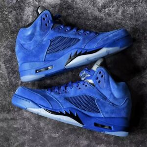jordan retro 5 royal blue