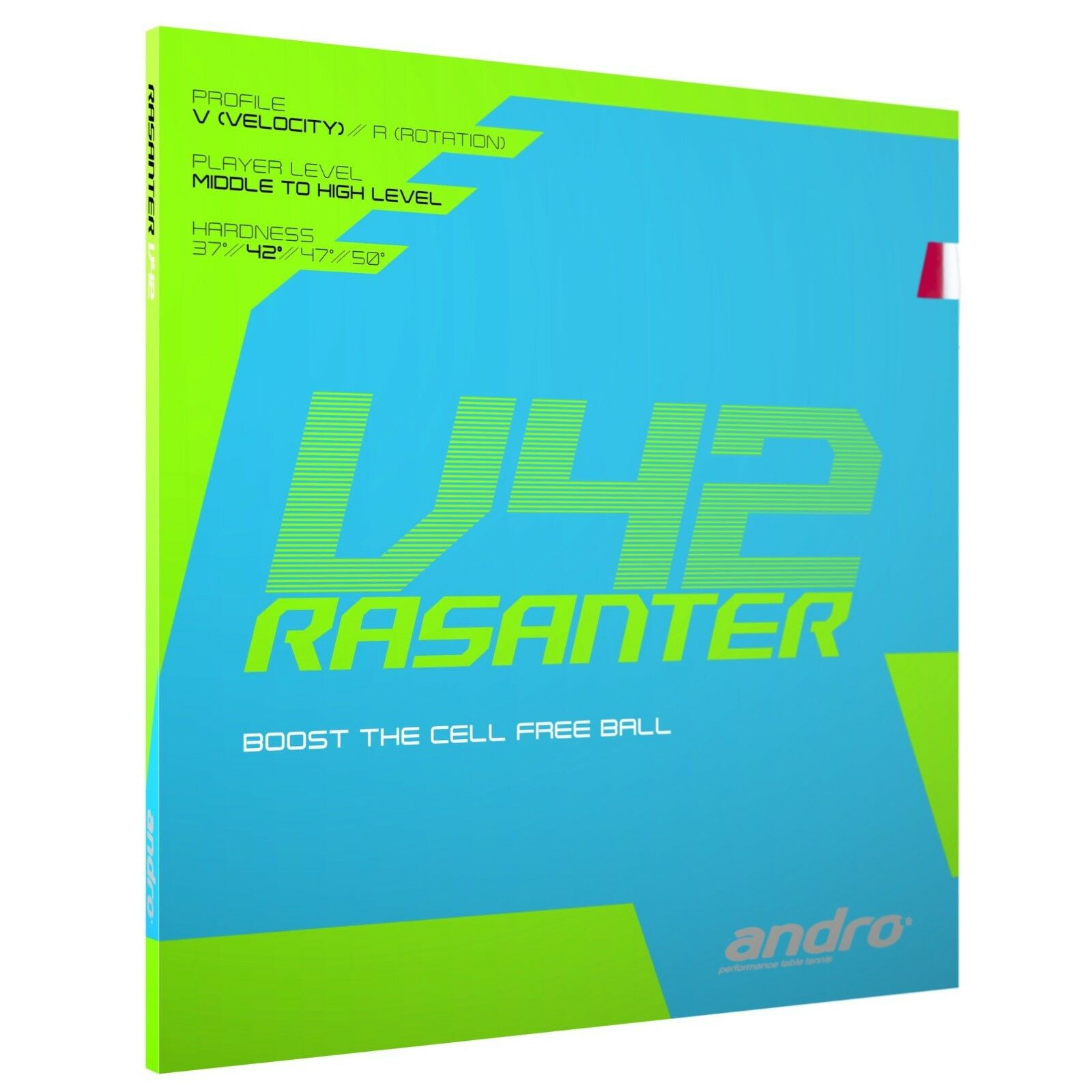 Andro Rasanter V42 Table Tennis Rubber (SALE)