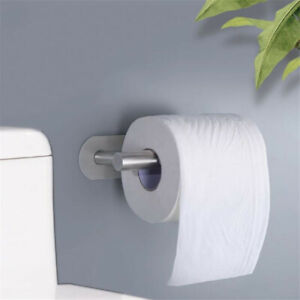 Stainless-Steel-Self-Adhesive-Wall-Mount-Bathroom-Toilet-Roll-Paper-Holder-Rack