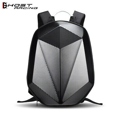 Waterproof Large Capacity Motorcycle Helmet Bag Cycling Helmet Storage Backpack 30L Black