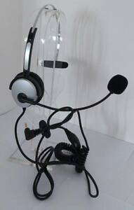 H101 NC DUO Headset with 2.5mm plug for Linksys 921 922 941 942 Polycom SE225