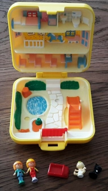Polly Pocket, Polly Pocket, Polly Pocket i meget fin stand…