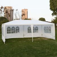Outdoor 10'x20'canopy Party Wedding Tent Gazebo Pavilion Cater Events 4 Sidewall on sale