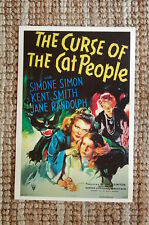 The Curse of the Cat People Lobby Card Movie Poster Simone Simon Kent Smith