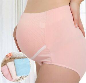 Women-Maternity-Pregnancy-Mum-Cotton-High-Waist-Comfy-Underwear-Undies-Panties