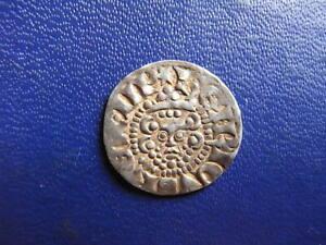 Henry III Silver Voided Long Cross Penny, Class 3b London 1216-47