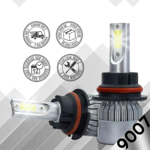XENTEC LED HID Headlight Conversion kit 9007 HB5 6000K 1997-2002 Ford Expedition