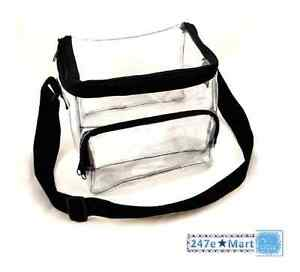Image Is Loading New Clear Lunch Bag Medium Suitable For Correctional