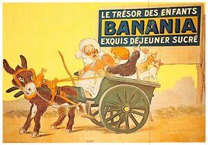 CP Postcard Poster Advertising Banania Edit Clouet 10441