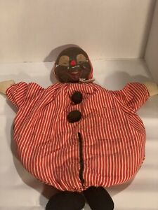 Antique Clown Doll MERRYTHOUGHT IRONBRIDGE SHROPS England