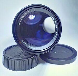 Yashica-ML-200mm-f-4-C-Prime-Tele-Kamera-Objektiv-C-Y-Mount