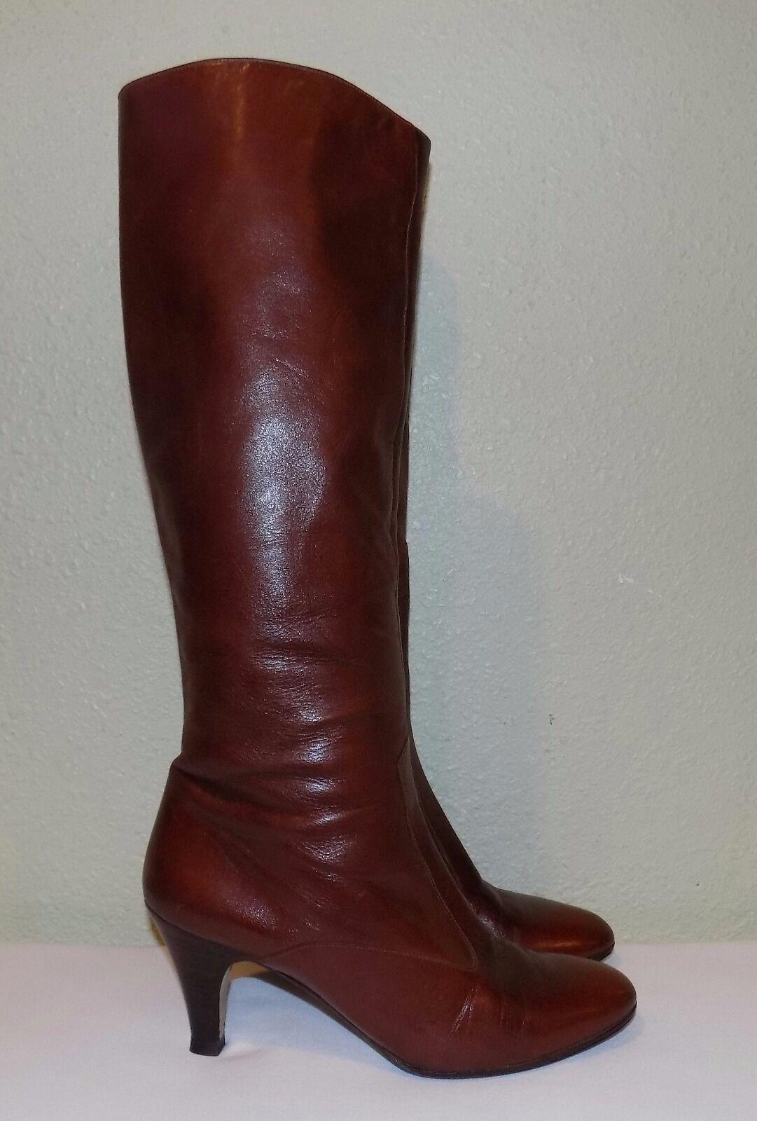 Damenschuhe COGNAC LTHR 7 BARE ORIGINALS SPAIN KNEE HIGH Stiefel 7 LTHR N NARROW EU 37 37.5 38 adf59e