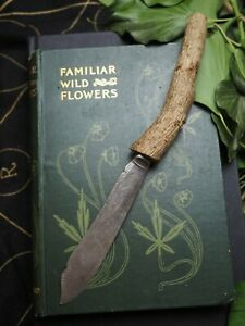 Upcycled-Athame-with-English-Ivy-Wood-Handle-Pagan-Wiccan-Ritual-Witchcraft