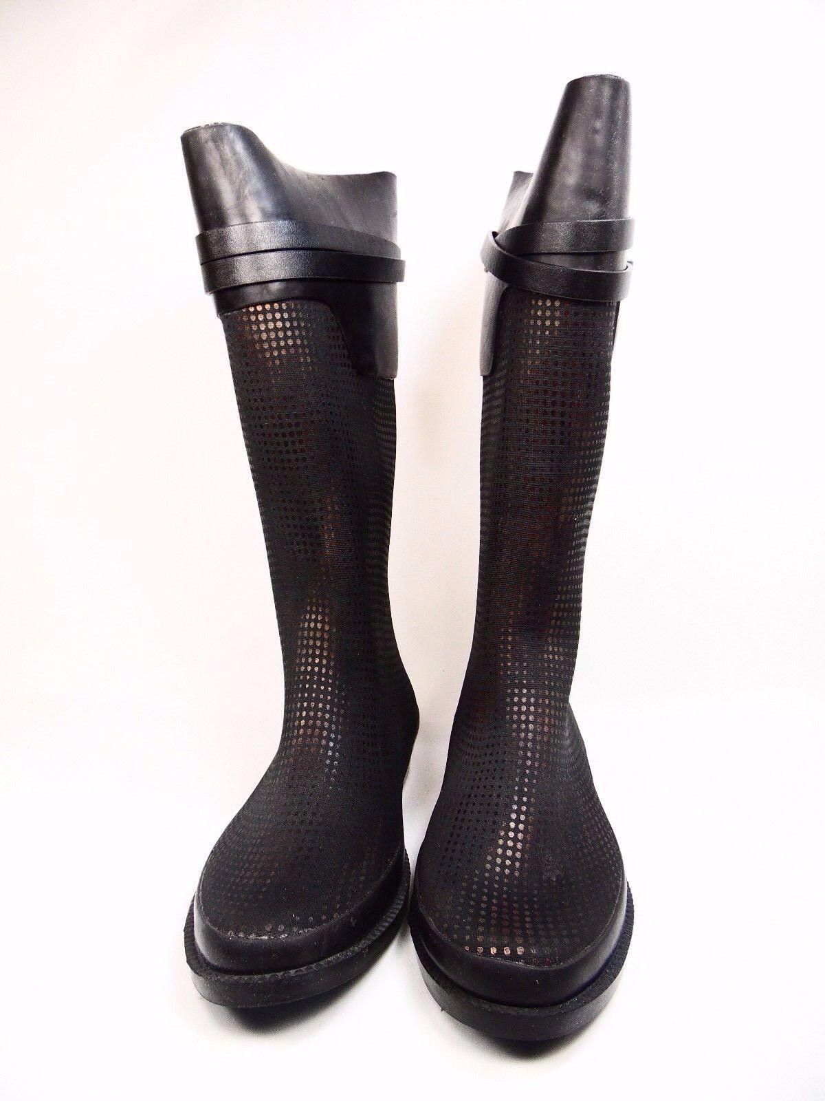 HENRY FERRERA AMBIANCE-200-05 Womens Ladies Boots  Black Bronze Size 9