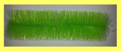 15 Stück Filterbürste grün fein 80 cm lang Teichbürste Koiteich Teichfilter