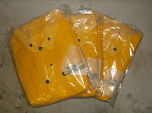 Lot-of-30-Yellow-Condor-5T914-Size-XLarge-3-Piece-Rainsuits-NEW