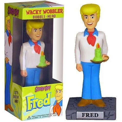 Funko Scooby Doo Bobble Heads Fred Wackelfigur Booble Head Sammlerfigur