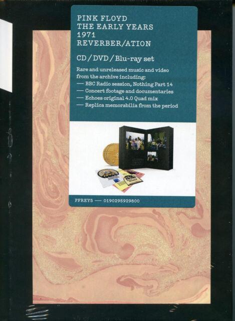 Pink Floyd 1971 Reverb / Ation Caja CD+DVD + Blu Ray Nuevo Sellado