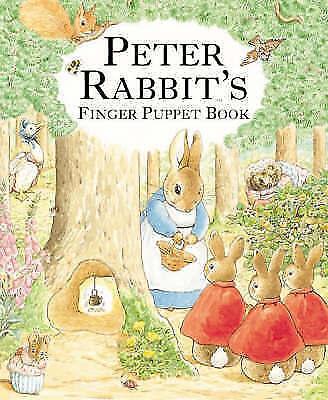 PETER RABBIT FINGER PUPPET BOOK (New Edition) (Beatrix Potter Novelties), Potter