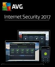 AVG INTERNET SECURITY 2017 - 1 PC for 1 Year - DOWNLOAD ONLY