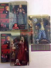 "NECA House of 1000 Corpses 7"" Series 1 Set Captain Spaulding Dr. SATAN Otis 2002"