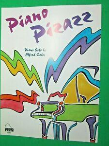 1983-SCHAUM-PIANO-PIZZAZ-ALFRED-CAHN-PIANO-SOLO-SHEET-MUSIC-L-3