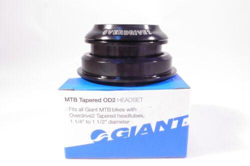 "GIANT OD2 MTB Tapered Headset Bearings fit headtube 1-1//4/"" to 1-1//2/"" diameter"