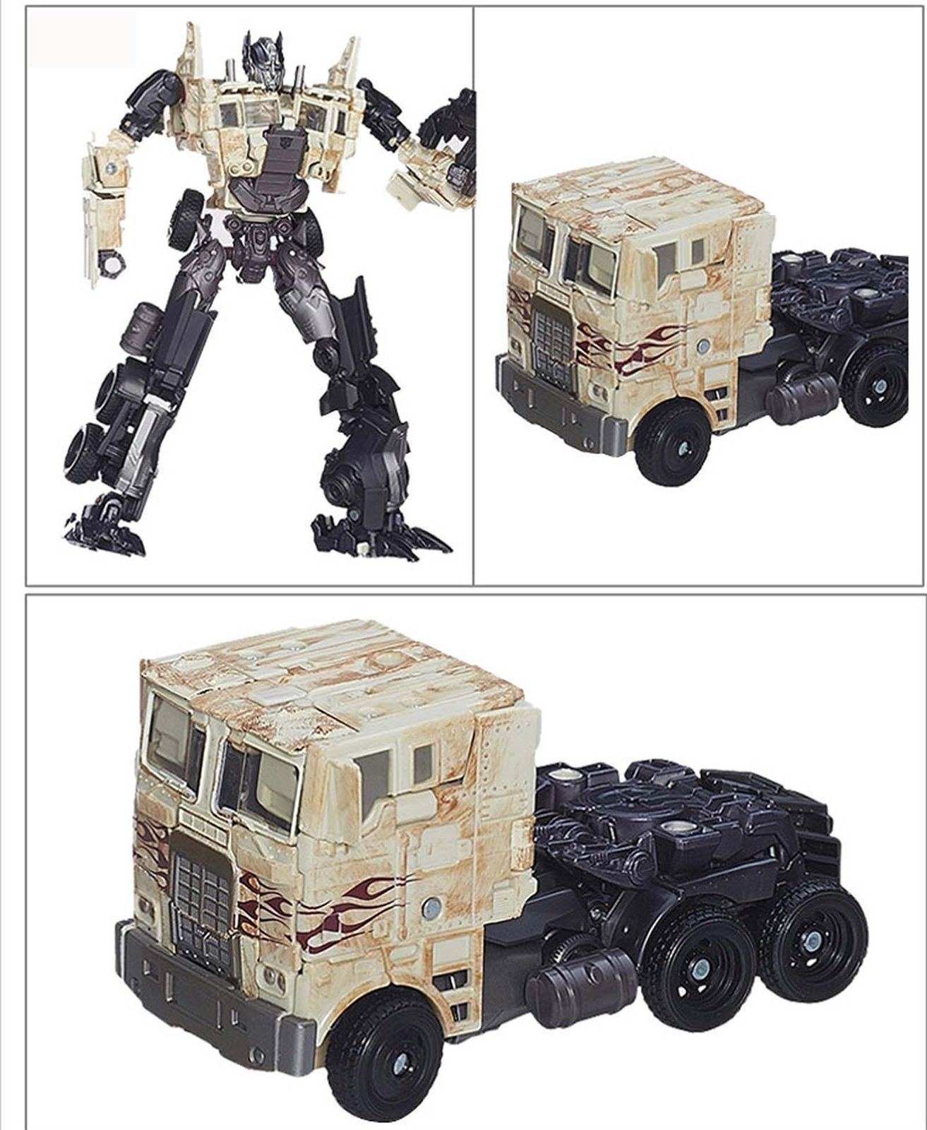 Hasbro Transformers Breakout Battle Rusty Scrapyard Optimus Prime Loose Figure