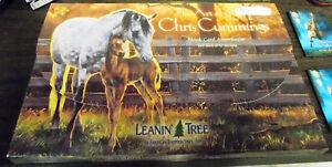 New-Leanin-039-Tree-The-Art-of-Chris-Cummings-Blank-Card-Assortment-Horse-Designs