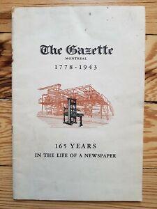The-Montreal-Gazette-1778-1943-Canadian-Newspaper-history-media-news-Quebec