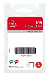 Maestri art 108 Forest punti metallici per spillatrice graffette metalliche