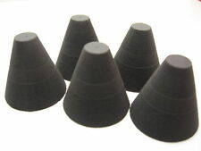 Foam cone for DIY electronic drum
