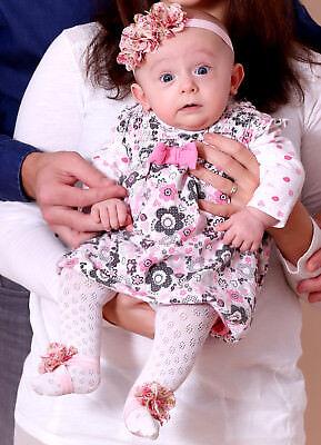 Ehrlich Haarband Blume Straß Baby Mädchen Stirnband Kopfband Haarschmuck Rose
