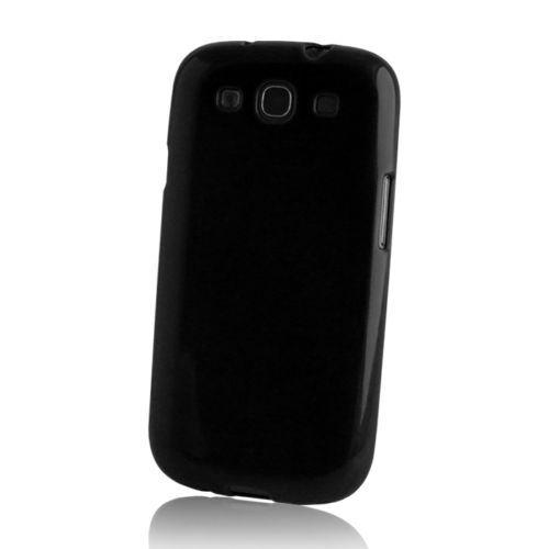 ^ TPU Silikon Schutz Hülle Handy Cover Jelly Case Motorola Moto E4 Plus Schwarz