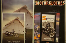 Harley Davidson 2001 Catalogue,Price List,Motor Clothes Set for Collector Owner
